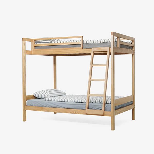 Giường gỗ 2 tầng trẻ em