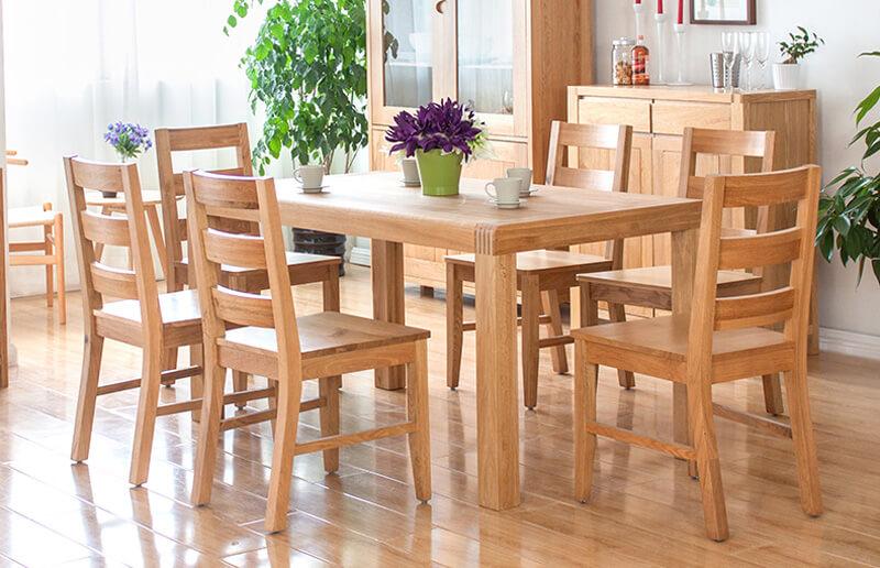 Bàn ăn gỗ 6 ghế đẹp