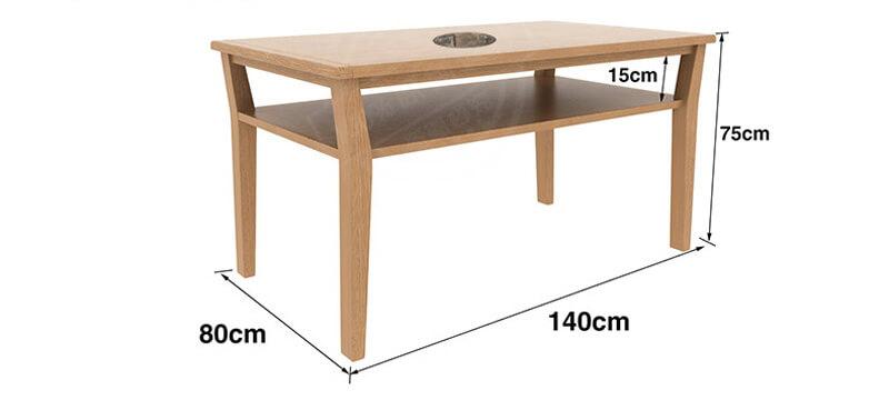 Bàn ăn 6 ghế gỗ sồi nga giá rẻ Hà Nội